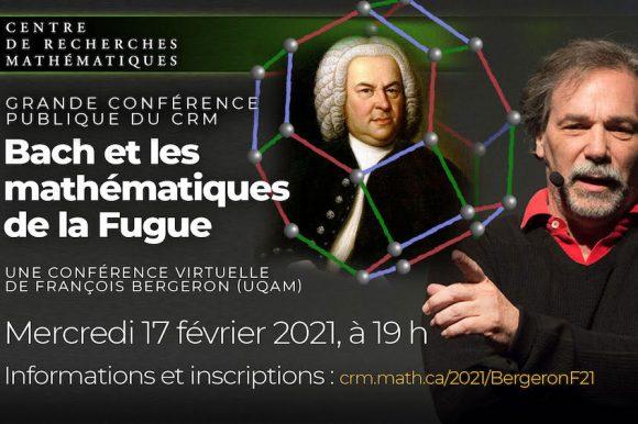 François Bergeron : Bach et les mathématiques de la Fugue