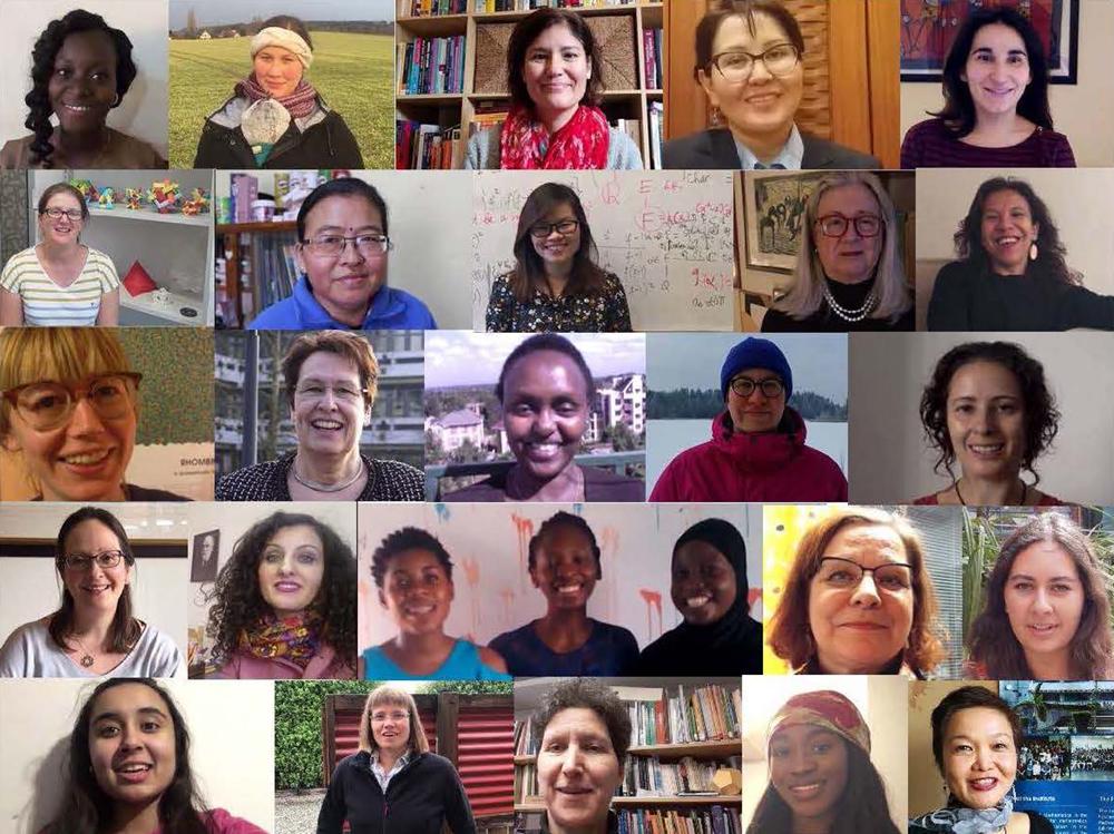 Femmes en mathématiques au LaCIM